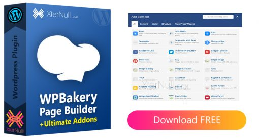 WPBakery Page Builder v6.6.0 [Nulled] + Ultimate Addons