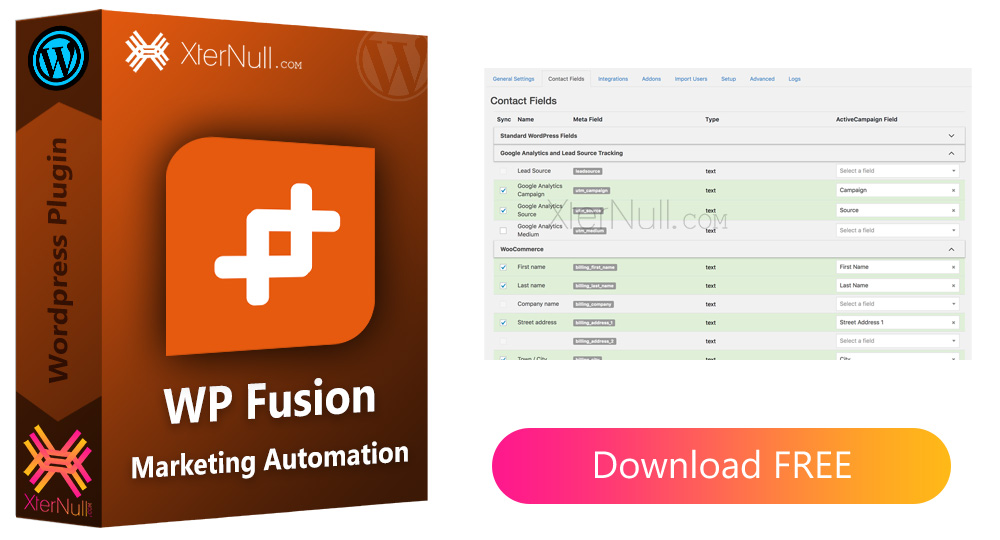 WP Fusion 3.34.1 Plugin (Marketing Automation) [Nulled]