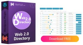 Web 2.0 Directory v2.7.7 Plugin [Nulled]