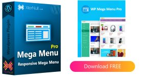 WP Mega Menu Pro Plugin v2.1.4 (Responsive Mega Menu) [Nulled]