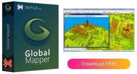 Global Mapper (GIS software) + Crack