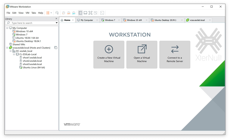 VMware Workstation Windows/MacOS/Linux