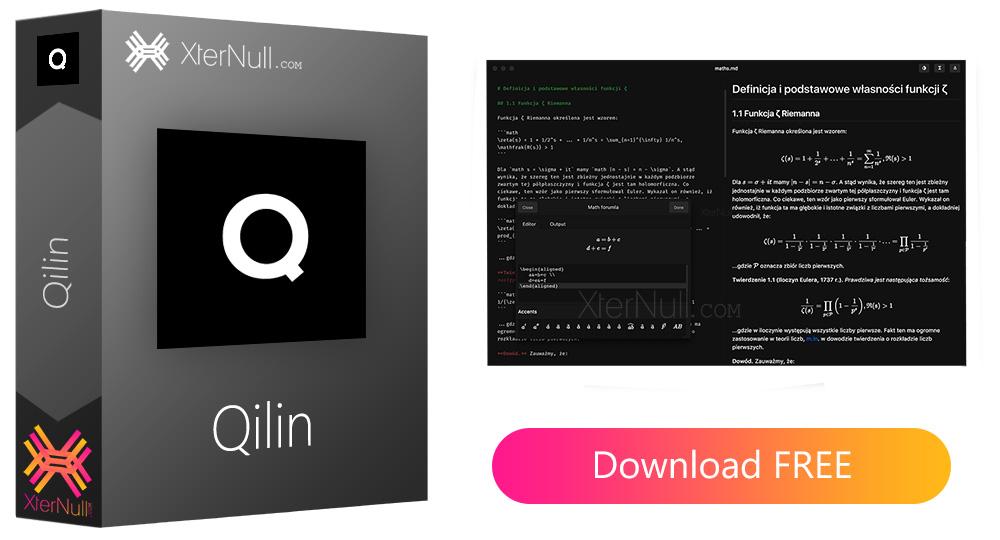 Qilin (Text Editor Software)