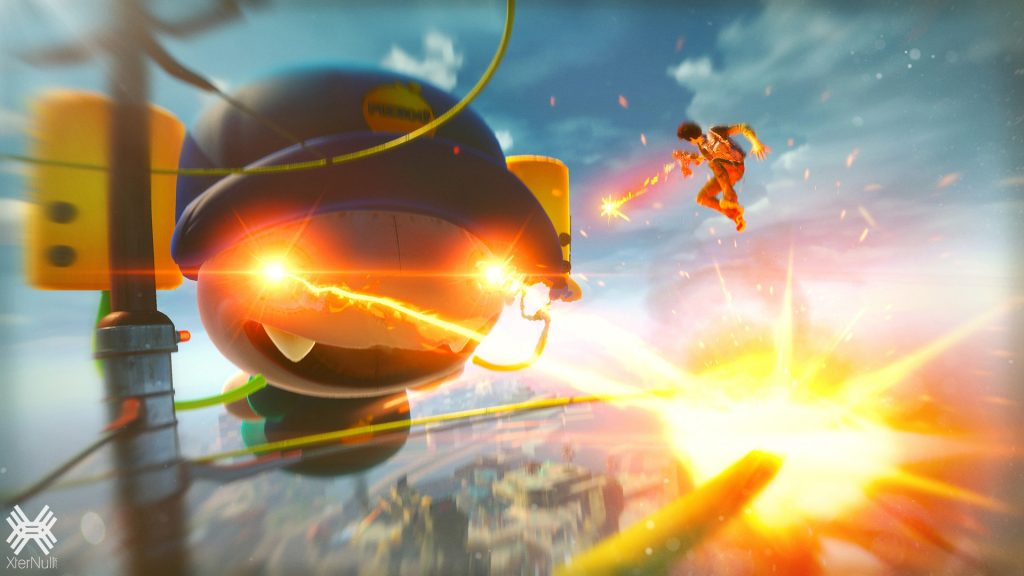 Sunset Overdrive [Cracked] + Optional Credits