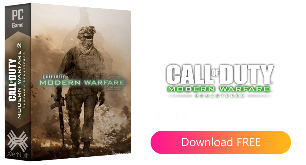 Call of Duty Modern Warfare 2 (Remastered) [Cracked] + Crack Only
