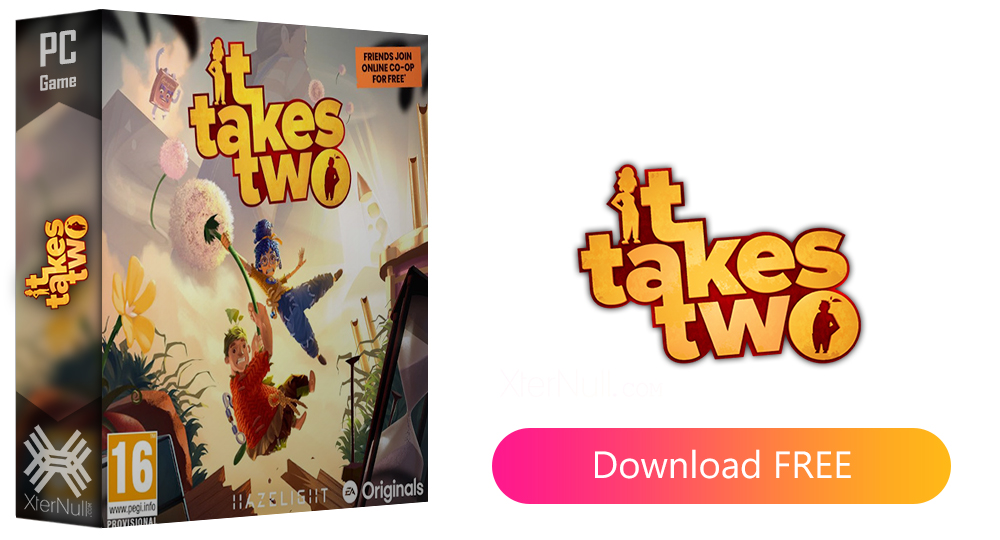 It Takes Two [Cracked] + Online Multiplayer + Crack Only