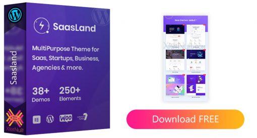 Saasland v3.3.6 WordPress Theme [Nulled]